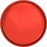 "Signal Red, 14"" Round Serving Tray, Fiberglass, 12/PK"