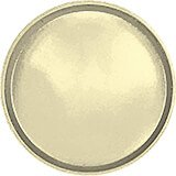 "Lemon Chiffon, 13"" Round Serving Tray, Fiberglass, 12/PK"