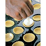 Polypropylene Double Sided Pastry & Pie Press Tool