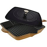 "Saffron, 12"" Cast Iron Grill Press Combo"