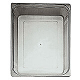 "Clear, Polycarbonate Hotel Pan 2/1 Gn, 6"" Deep"