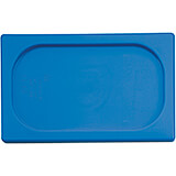 Blue, Polypropylene Hotel Pan 1/6 Gn Seal Lid