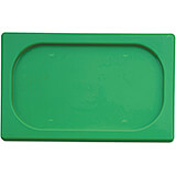 Green, Polypropylene Hotel Pan 1/4 Gn Seal Lid