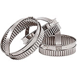 Stainless Steel Carnation Pastry / Cookie Cutter, 5.5""