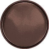 "Brazil Brown, 16"" Round Serving Tray, Fiberglass, 12/PK"