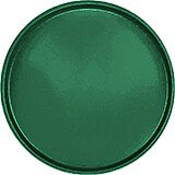 "Sherwood Green, 19-1/2"" Low Profile Round Serving Tray, Fiberglass, 12/PK"