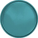 "Slate Blue, 19-1/2"" Low Profile Round Serving Tray, Fiberglass, 12/PK"