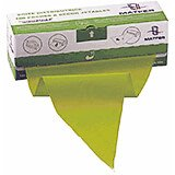 Green, Plastic Roll Of 100 Heavy Duty Disposable Pastry Bags