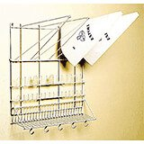 White, Wire Pastry Bag Rack