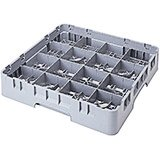 "Soft Gray, 16 Comp. Cup Racks, Full Size, 2-5/8"" H Max."