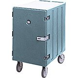 Slate Blue, 13-Pan Insulated Sheet Pan and Tray Cart, Lockable