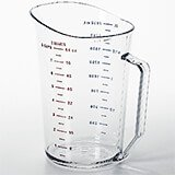 Clear, Camwear Measuring Cups, 2 Quarts, 12/PK