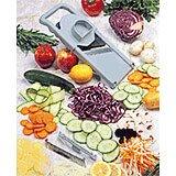 Gray, Plastic Mandolin Slicer 1000