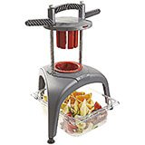 Heavy Duty Fruit And Vegetable Slicer, 6 Segments