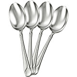 Stainless Steel, Provence Silverware Set, Soup Spoon, 4/PK