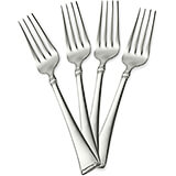 Stainless Steel, 18/10 Steel Angelico Silverware Set, Dinner Fork, 4/PK