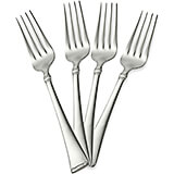 Stainless Steel, 18/10 Steel Angelico Silverware Set, Salad Fork, 4/PK