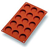 Orange, Silicone Gastroflex Mini Tartlet Baking Mold