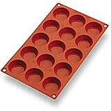 Silicone Gastroflex Mini Tart Pan, Sheet Of 15