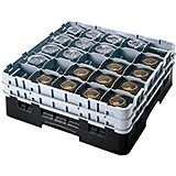 25 Compartment Glass Racks