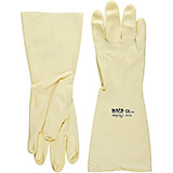 Cream, Latex Sugar Art Gloves, Large
