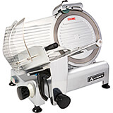 "Aluminum Light Duty Meat Slicer, 12"" Diam. Blade, 1/3 HP Motor"