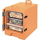 Coffee Beige, Insulated Front Loading Food Carrier, Full Size Pans