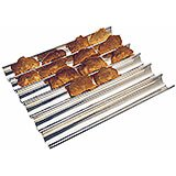 Stainless Steel Tuile Baking Sheet, Ridged