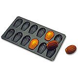 Steel Exopan Madeleine Baking Pan, 12 Cups