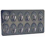 Tinplate Madeleine Baking Pan, 12 Cups