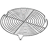 Steel Round Cooling Rack, 7.75""
