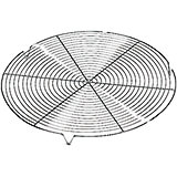 Steel Round Cooling Rack, 12.5""