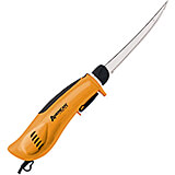 "Orange, Pro EFK Electric Knife W/ 8"" Serrated Fillet Blade"