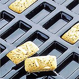 Silicone Flexipan Mini Rectangular Baking Molds, 84 Cups