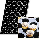"Silicone Flexipan Muffin Pan, 2.75"", 24 Cups"