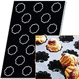 Silicone Flexipan Mini Muffin Pan For Charlottes, 30 Cups