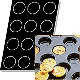 Silicone Flexipan Tartlets Baking Molds, 12 Cups