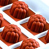 Silicone Candy / Chocolate Mold, Raspberry Shape