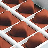 Silicone Candy / Chocolate Mold, Heart Shape
