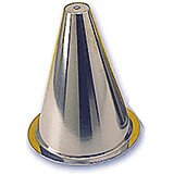 """Stainless Steel Cone Mold For Croquembouche, 10"""""""