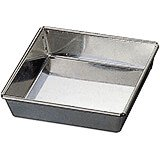 Tinplate Square Cake Pan, 6.25""