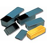 """Steel Non-stick Bread Loaf Pan With Lid, 10.5"""""""