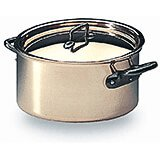 Copper, Casserole / Rondeau With Lid, 9.5""