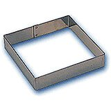 Stainless Steel Square Cake Frame / Ring Mold, 6.62""