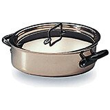 Copper, Saute Pan Braiser / Stew Pot With Lid, 9.5""