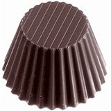 Polycarbonate Cup Chocolate Molds, Sheet Of 24