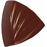 Polycarbonate Striped Triangles Chocolate Molds, , Sheet Of 28