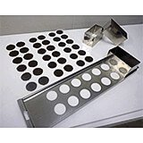 "Stainless Steel, 2"" Kits For Making Chocolate Discs And Tuiles"