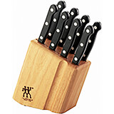 Twin 9pc Block Set Gourmet Steak Knives