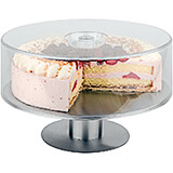 "Clear, Luran 11-7/8"" Round Cake Dome"